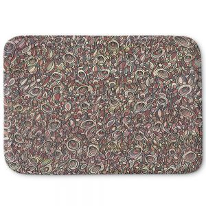 Decorative Bathroom Mats | Valerie Lorimer - Wandering Souls | Pattern repetition abstract