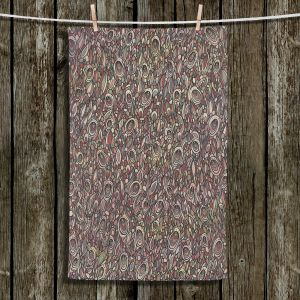 Unique Hanging Tea Towels | Valerie Lorimer - Wandering Souls | Pattern repetition abstract
