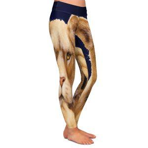 Casual Comfortable Leggings | Will Bullas - Call of the Wild | Lion Puma nature animal big cat phone pun joke