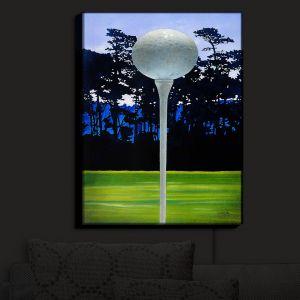 Nightlight Sconce Canvas Light | Will Bullas's High Tee