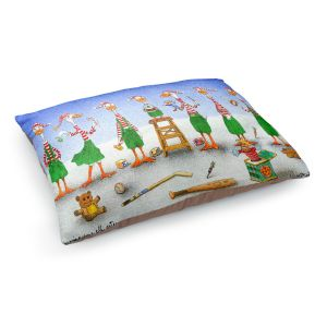 Decorative Dog Pet Beds | Will Bullas - Improving Your Elf Esteem | Duck geese christmas snow winter north pole santa xmas holiday pun joke