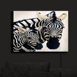 Unique Illuminated Wall Art 14 x 11 from DiaNoche Designs by Will Bullas - Madonna Serengeti Zebra