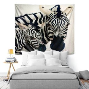 Artistic Wall Tapestry   Will Bullas Madonna of the Serengeti