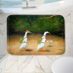 Decorative Bathroom Mats | Will Bullas - Backquackers