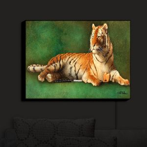 Nightlight Sconce Canvas Light | Will Bullas's Tigers Woods