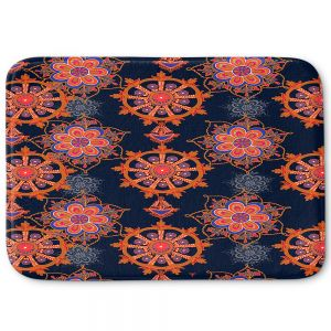 Decorative Bathroom Mats | Yasmin Dadabhoy - Boho Circle 2 | bohemian pattern