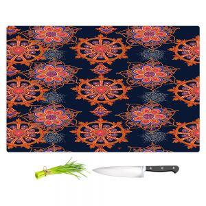 Artistic Kitchen Bar Cutting Boards | Yasmin Dadabhoy - Boho Circle 2 | bohemian pattern