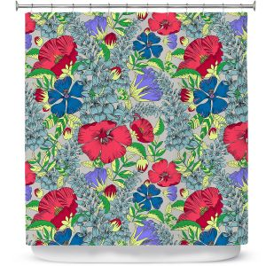 Premium Shower Curtains | Yasmin Dadabhoy - Botanical 1 | floral nature pattern