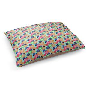 Decorative Dog Pet Beds | Yasmin Dadabhoy - Circles 1 | shape geometric pattern