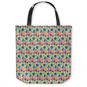 Unique Shoulder Bag Tote Bags | Yasmin Dadabhoy - Circles 1 | shape geometric pattern