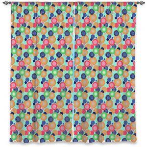 Decorative Window Treatments | Yasmin Dadabhoy - Circles 1 | shape geometric pattern