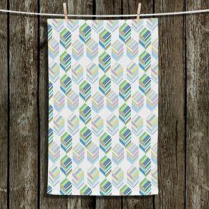 Unique Hanging Tea Towels | Yasmin Dadabhoy - Cubes 1A | Geometric Pattern