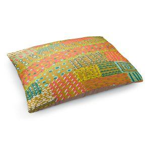 Decorative Dog Pet Beds | Yasmin Dadabhoy - Doodle Towel | abstract pattern lines