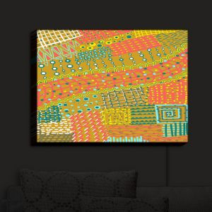 Nightlight Sconce Canvas Light | Yasmin Dadabhoy - Doodle Towel