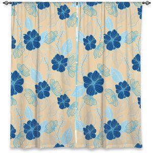 Decorative Window Treatments | Yasmin Dadabhoy - Flower Vine 4 | Flowers Pattern Nature