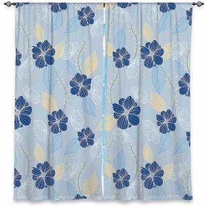 Decorative Window Treatments   Yasmin Dadabhoy - Flower Vine 6   Flowers Pattern Nature