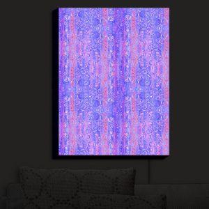 Nightlight Sconce Canvas Light | Yasmin Dadabhoy - Mauve Swirls 1