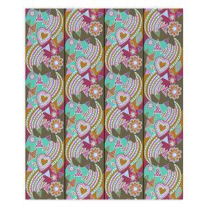 Decorative Wood Plank Wall Art   Yasmin Dadabhoy - Popart Gold   abstract pattern geometric