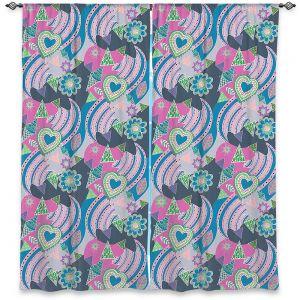 Decorative Window Treatments | Yasmin Dadabhoy - Popart Grey | abstract pattern geometric