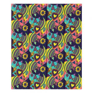 Decorative Wood Plank Wall Art | Yasmin Dadabhoy - Popart Yellow | abstract pattern geometric