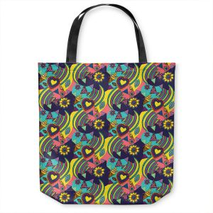 Unique Shoulder Bag Tote Bags   Yasmin Dadabhoy - Popart Yellow   abstract pattern geometric
