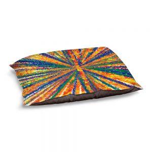 Decorative Dog Pet Beds | Yasmin Dadabhoy - Sun Light | Abstract
