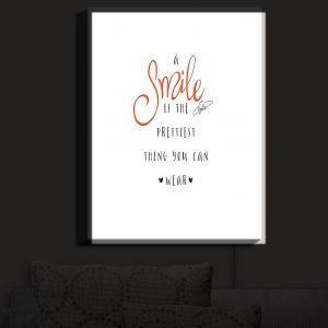 Nightlight Sconce Canvas Light | Zara Martina - A Smile Orange