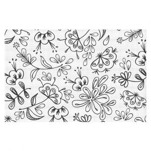 Decorative Floor Coverings | Zara Martina - Band With Flora