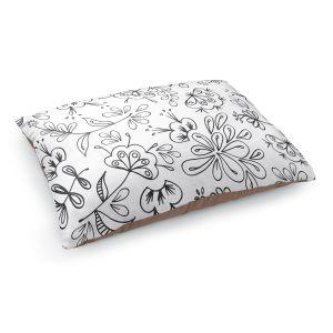 Decorative Dog Pet Beds | Zara Martina - Band With Flora