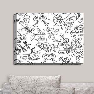 Decorative Canvas Wall Art | Zara Martina - Band With Flora