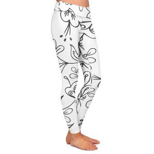 Casual Comfortable Leggings   Zara Martina - Band With Flora