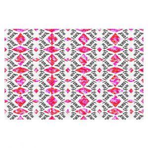 Decorative Floor Coverings | Zara Martina - Bonjour Pattern Pink