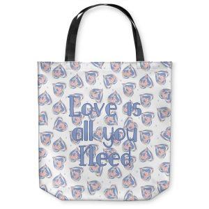 Unique Shoulder Bag Tote Bags | Zara Martina - Floating Hearts Love