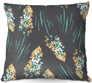 Decorative Outdoor Patio Pillow Cushion   Zara Martina - Graceful Meadows