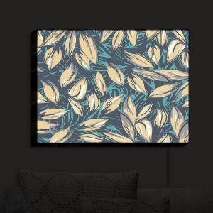 Nightlight Sconce Canvas Light | Zara Martina - Leafy Layers
