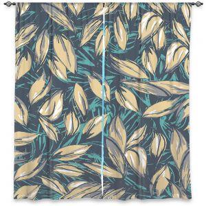 Decorative Window Treatments   Zara Martina - Leafy Layers
