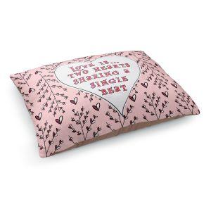 Decorative Dog Pet Beds | Zara Martina - Love Heart Trees On Roses