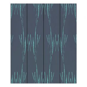 Decorative Wood Plank Wall Art | Zara Martina - Midnight Garden