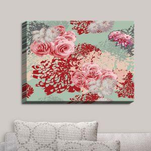 Decorative Canvas Wall Art   Zara Martina - Mint Blush