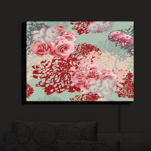Nightlight Sconce Canvas Light | Zara Martina - Mint Blush