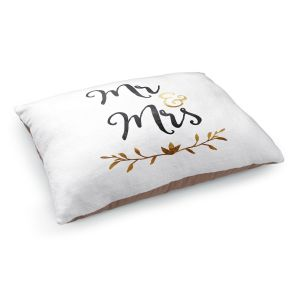 Decorative Dog Pet Beds | Zara Martina - Mr. And Mrs. Black Gold