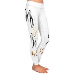 Casual Comfortable Leggings | Zara Martina - Mr. And Mrs. Black Gold