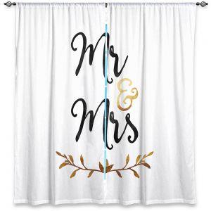 Decorative Window Treatments | Zara Martina - Mr. And Mrs. Black Gold