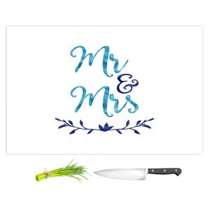 Artistic Kitchen Bar Cutting Boards | Zara Martina - Mr. And Mrs. Blues