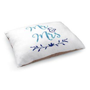 Decorative Dog Pet Beds | Zara Martina - Mr. And Mrs. Blues