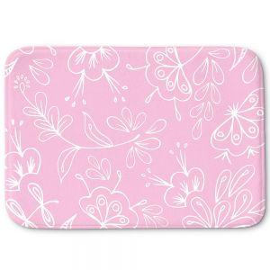 Decorative Bathroom Mats   Zara Martina - Pink Flora Mix
