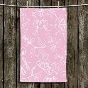 Unique Bathroom Towels | Zara Martina - Pink Flora Mix