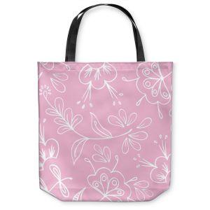 Unique Shoulder Bag Tote Bags | Zara Martina - Pink Flora Mix