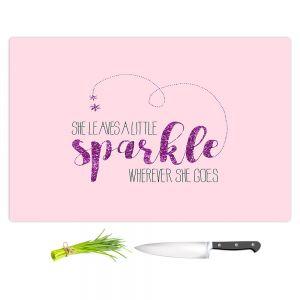 Artistic Kitchen Bar Cutting Boards | Zara Martina - She Sparkles Pinks
