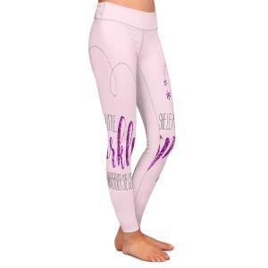 Casual Comfortable Leggings | Zara Martina - She Sparkles Pinks